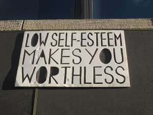 overcoming low self esteem - stop feeling worthless