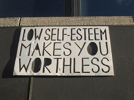 overcoming low self esteem - stop feeling worthless